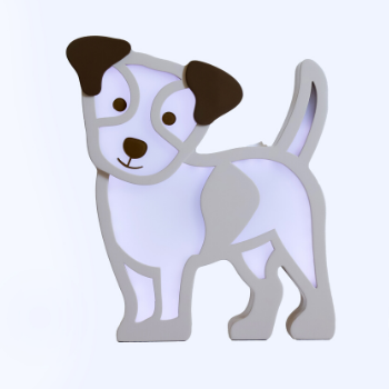 Luminária Cachorro Toby Premium