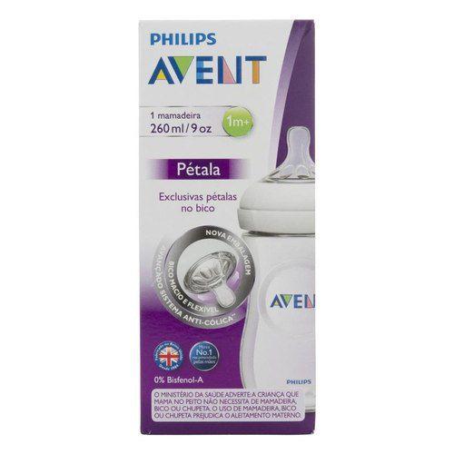 Mamadeira Pétala 260 Ml - Philips Avent - Branca