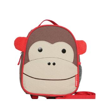 Mochila com Cinto Zoo Macaco