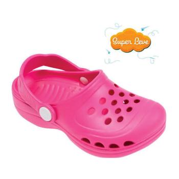 Sandália infantil Babuche Super Leve - Rosa