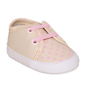 Sapato Pimpolho Fase 01 Rosa coração