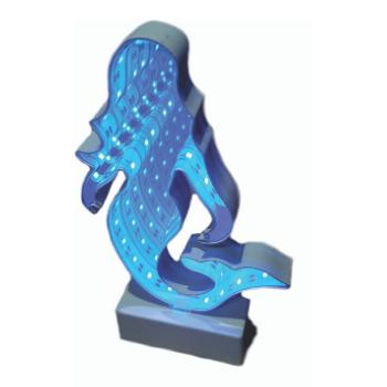 Sereia Infinito Cor Azul