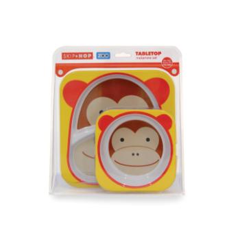 Set de Pratos Macaco