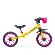 Bicicleta Balance Bike Drop Garden Amarelo