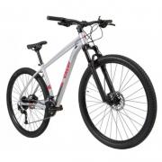 Bicicleta Caloi Explorer Comp Tamanho M 18 Velocidades Cinza Ano 2021