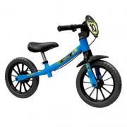 Bicicleta Nathor Balance Bike Azul/Pto
