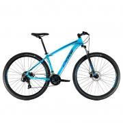 Bicicleta Oggi 29 Hacker Sport 21V Azul/Azul/Preto 17