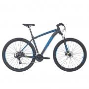 Bicicleta Oggi 29 Hacker Sport 21V Preto/Azul/Verde-Limão 17