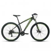 Bicicleta Oggi 29 Hacker Sport Preto/Verde 17