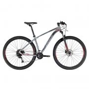 Bicicleta Oggi 29 Roda Grande 7.0 Alivio 18V Grafite/Preto/Vermelho 17 2021
