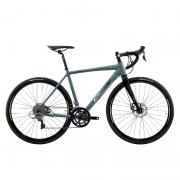 Bicicleta Oggi 700 Velloce Disc Claris 16V Grafite/Preto/Amarelo Tamanho XL (56) 2022