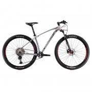 Bicicleta Oggi  Roda Grande 7.2 Deore 11V Grafite/Vermelho 15,5 2021