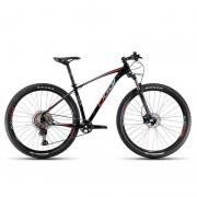 Bicicleta Oggi  Roda Grande 7.2 DEORE 11V Preto/Azul/Vermelho 17 2021