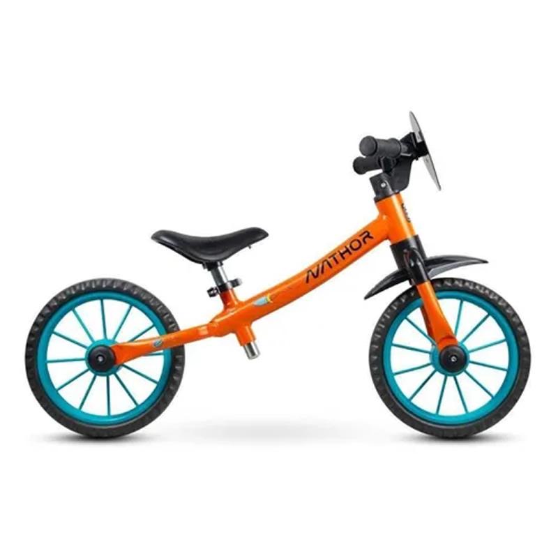 Bicicleta Balance Bike Drop Rocket Laranja