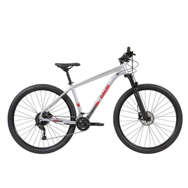 Bicicleta Caloi Explorer Comp Tamanho G 18 Velocidades Cinza Ano 2021