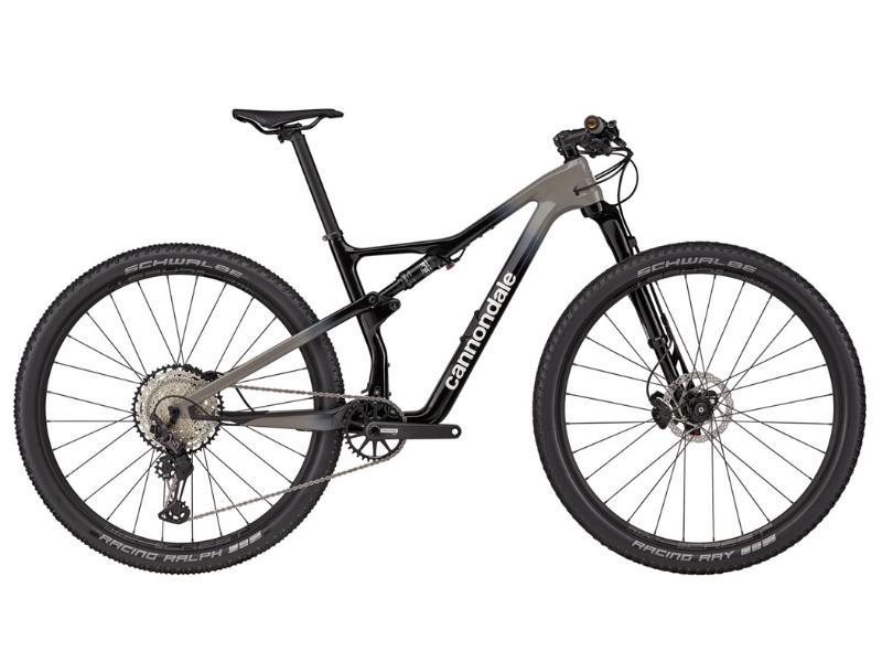 Bicicleta Cannondale Scalpel 3 Preto/Cinza Tam L