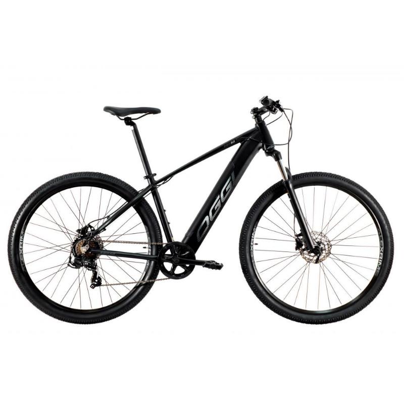 Bicicleta Elétrica Oggi 29 Roda Grande 8.0 7V Preto/Grafite 15,5