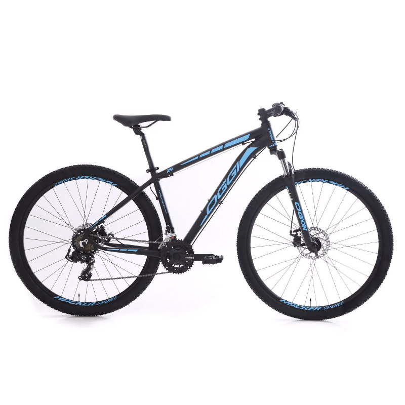 Bicicleta Oggi 29 Hacker Sport Pto/Az 15,5