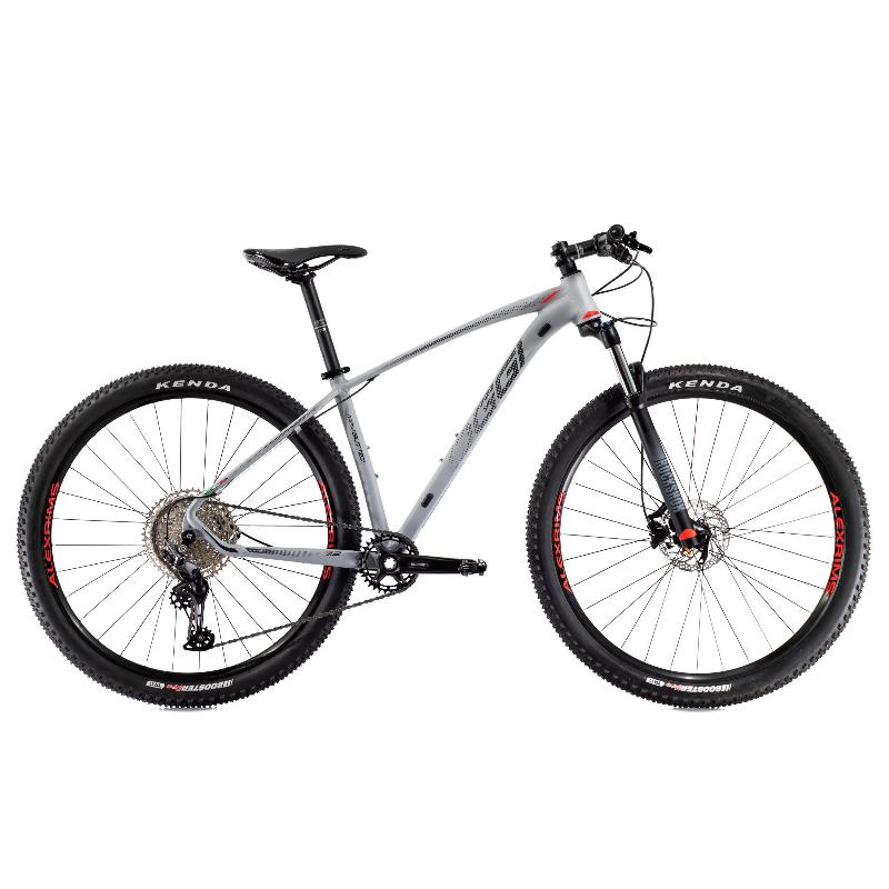 Bicicleta Oggi Roda Grande 7.2 Deore 11V Grafite/Vermelho 17 2021