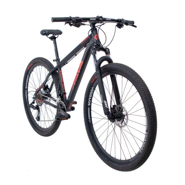 Bicicleta Rava Pressure 20V 29X19 Preta/Vm