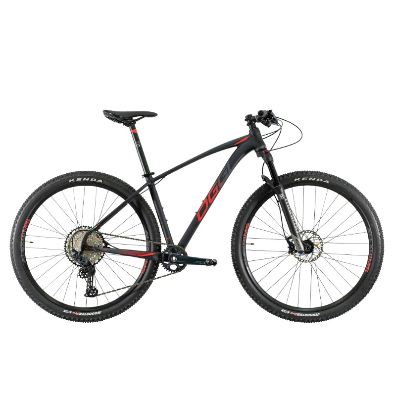 Bicleta Oggi 29 Roda Grande 7.4 SLX 12V Preto/Amarelo/Grafite 17 2021