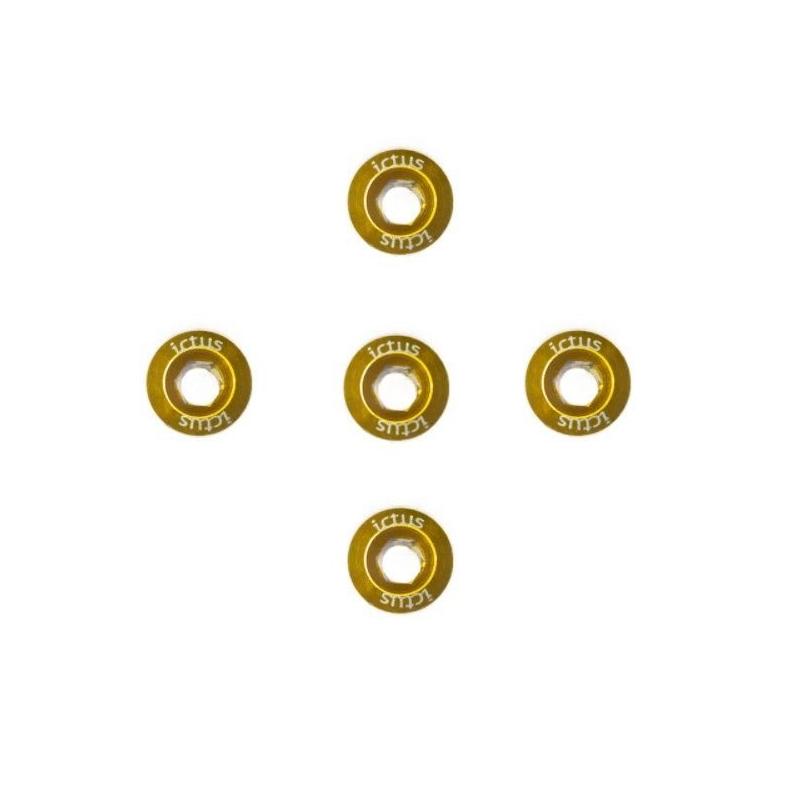 Parafuso De Coroa Ictus Dourado