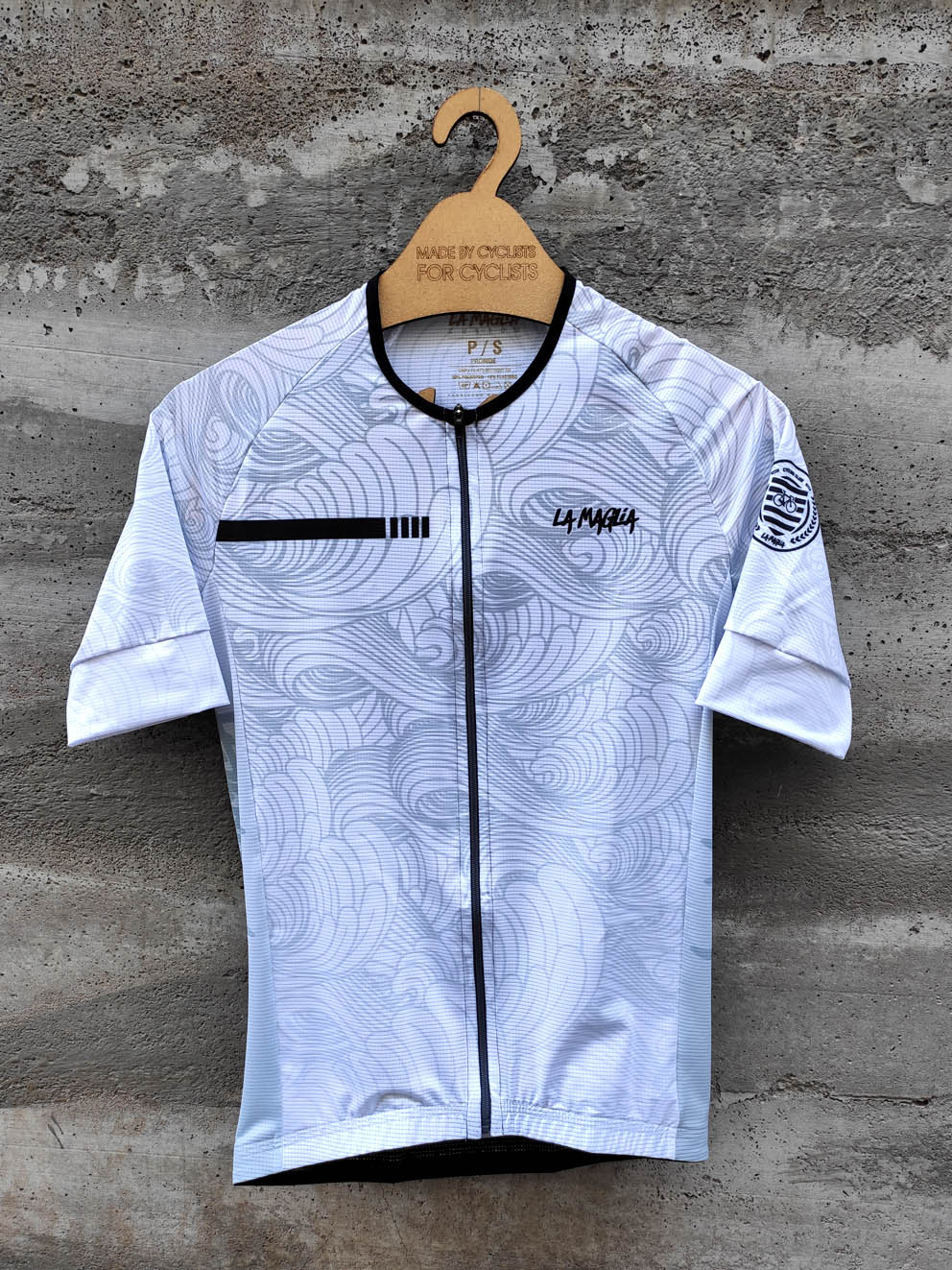 JERSEY PRORIDE MAR CHINES BRANCO