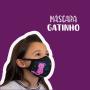 Máscara Infantil Gatinho