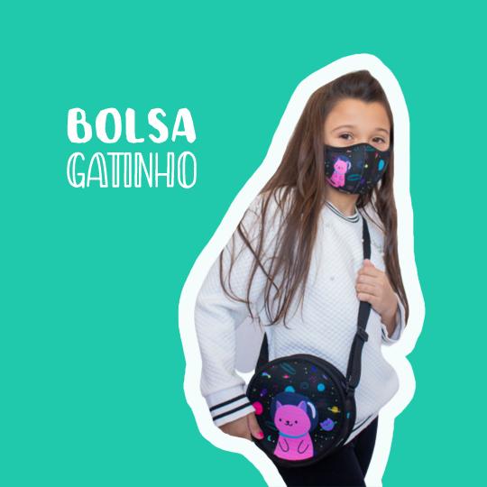 Bolsa Redonda Gatinho