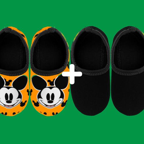 Classic Mickey + Preto