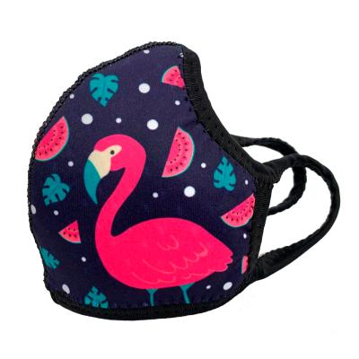 Máscara Infantil Flamingo