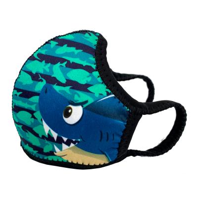 Máscara Infantil Shark