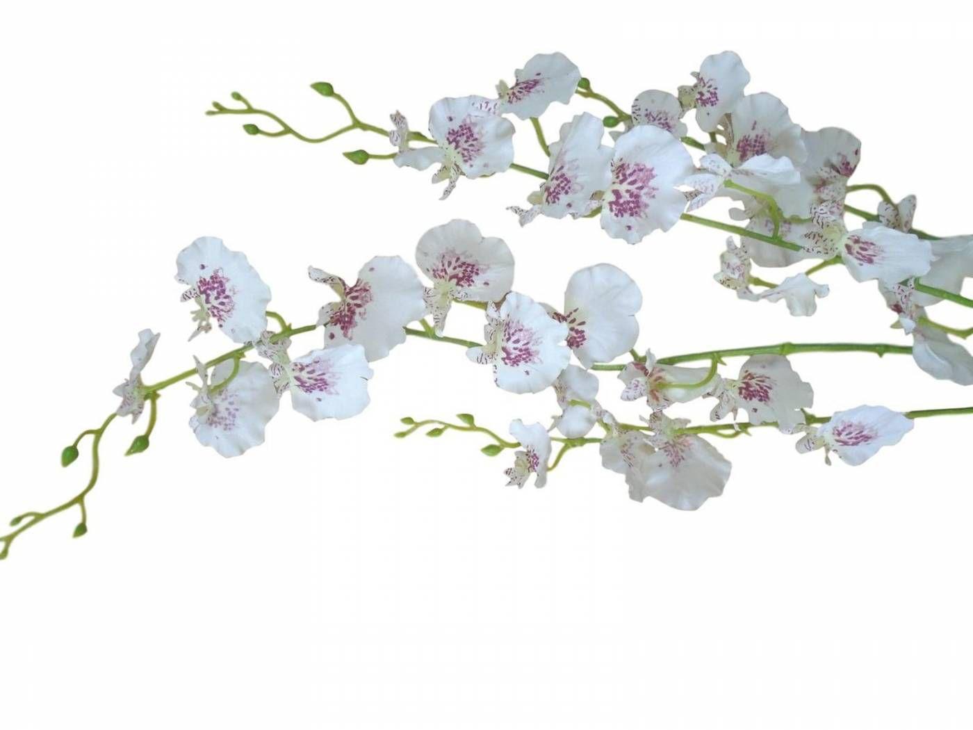 12 Galhos chuva de ouro orquídea artificial