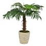 Palmeira Fênix Árvore Artificial com 11 Folhas Toque Real 90 cm