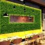 Placa de Samambaia Planta Artificial Para Muro Inglês