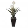 Planta Artificial Árvore Bromélia Branco 95 cm