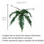 Planta Artificial Buquê de Samambaia 45 cm
