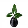 Planta Artificial Folha de Antúrio 75 cm Toque Real 3D Realista