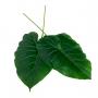 Planta Artificial Folha de Filodendro 54 cm em Silicone