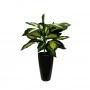 Planta Artificial Folhagem de Comigo Ninguém Pode 50 cm