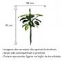 Planta Artificial Folhagem de Comigo Ninguém Pode 85 cm