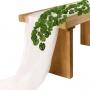 Planta Artificial Folhagem Pendente de Costela de Adão 80 cm Premium