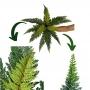 Planta Artificial Galho de Samambaia 50 cm Aparência Real
