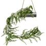 Planta Artificial Pendente de Samambaia 200 cm