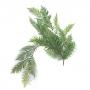 Planta Artificial Galho Pendente Longo de Samambaia 118 cm Linha Premium