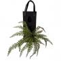 Planta Artificial Buquê de Samambaia 50 cm em Silicone Toque Real e Premium