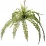 Planta Artificial Buquê de Samambaia 70 cm Premium em Silicone Toque Real