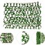 Treliça Artificial Folha de Hera Silicone