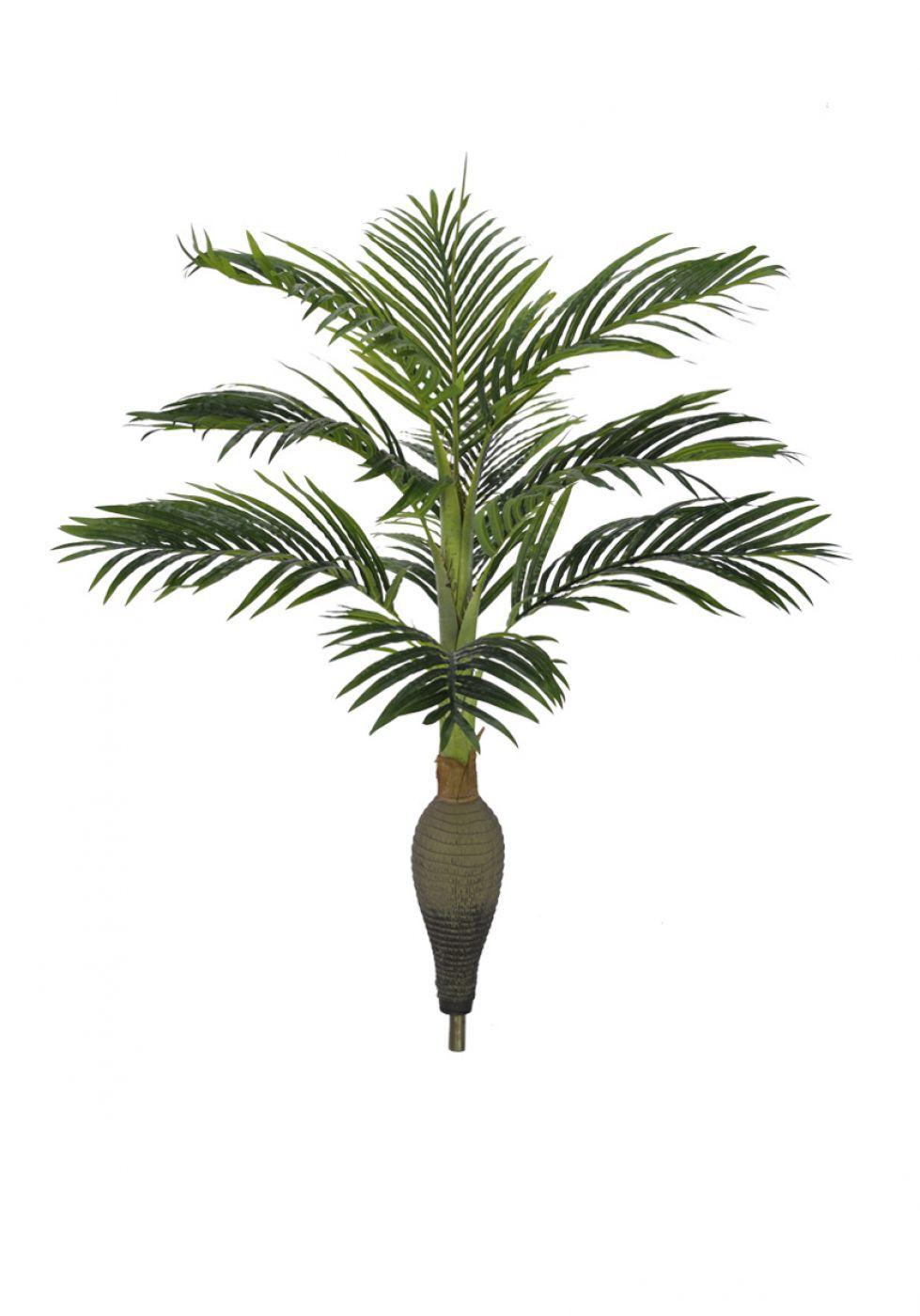 Arvore Palmeira garrafa artificial em silicone