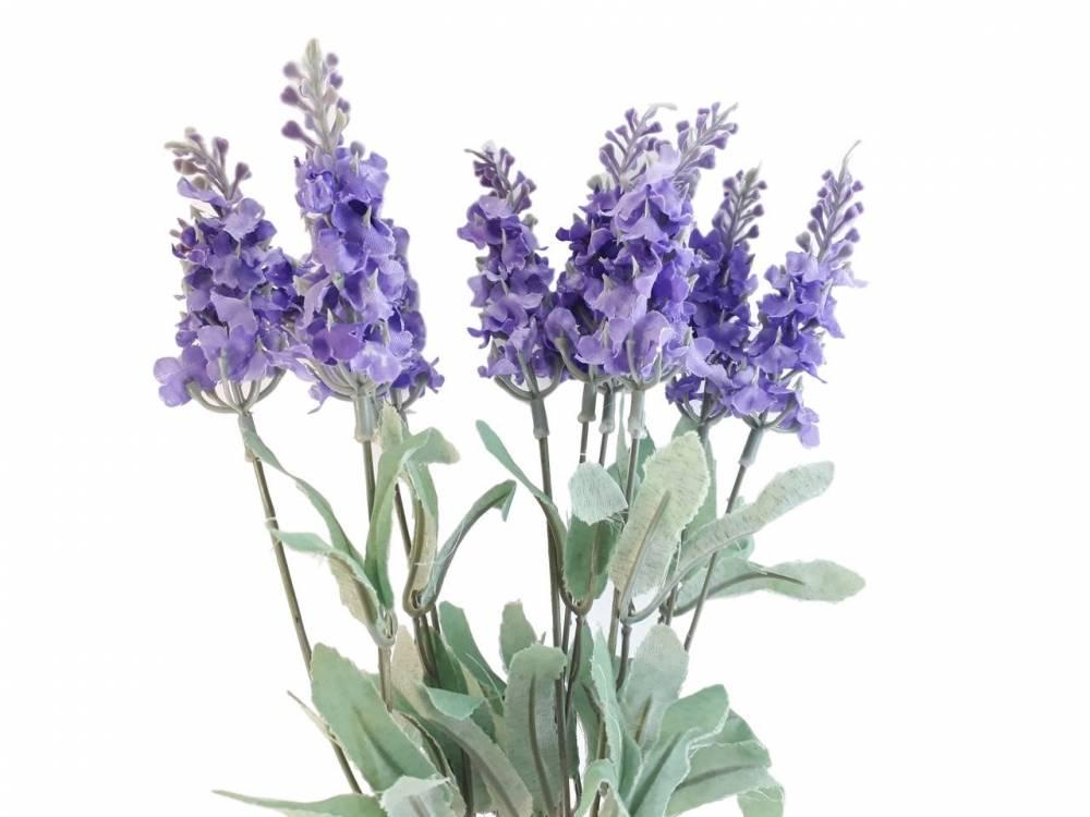 Flores artificiais Kit Lavanda para decoração